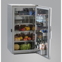 Stainless Steel Fridge Ms180 Hidden Evaporator