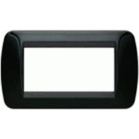 Climma Control Panel Bezel 4 Positions Euroliving Black