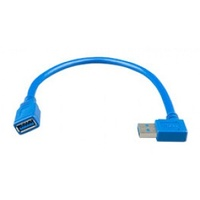 Victron USB extension cable 0,3m one side right angle