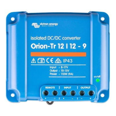 Victron Orion-Tr 12/12-9A (110W) Isolated DC-DC converter Retail