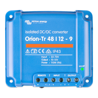 Victron Orion-Tr 48/12-9A (110W) Isolated DC-DC converter