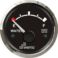 Wema Water Level Gauge with Stainless Steel Bezel (0-180 ohms)