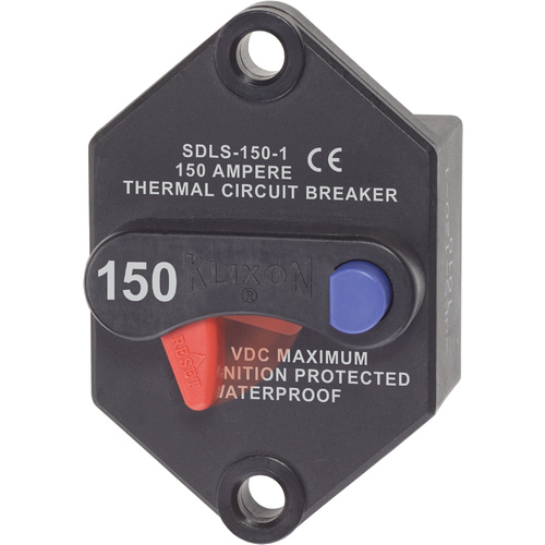 Blue Sea Circuit Breaker Klixon Panel 150A