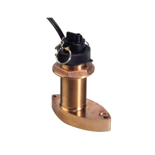 Raymarine Bronze B744V D/S/T Through Hull Retractable Transducer (includes E66023 Fairing Block)