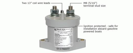 Blue Seas L-Series Solenoid Switch