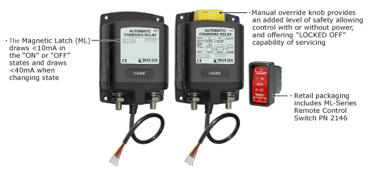 ML-Series Automatic Charging Relay