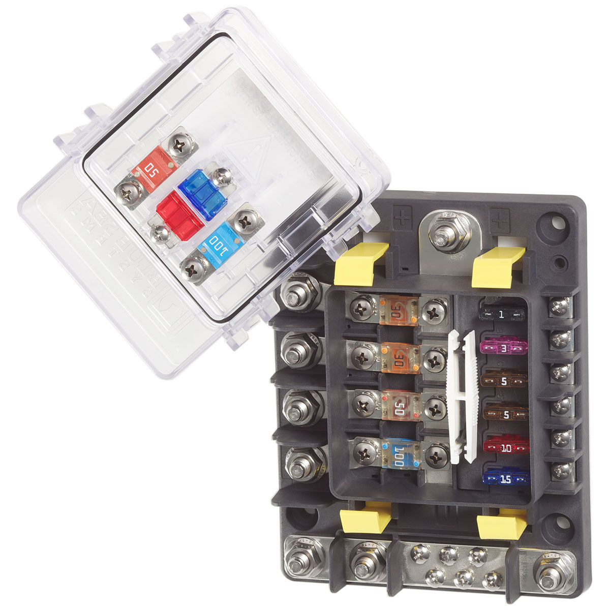 blue sea fuse block safetyhub 150 rh outbackmarine com au