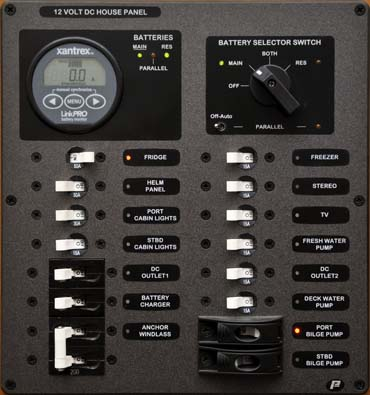 Marine Electrical Panel