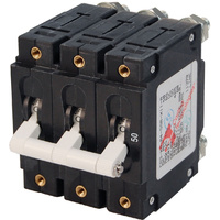 Blue Sea Circuit Breaker CA3Toggle 50A Wht
