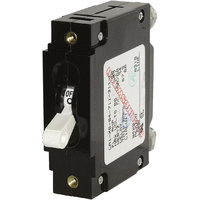 Blue Sea Circuit Breaker CA1Toggle 15A Wht