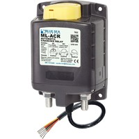 Blue Sea Solenoid ML-ACR Automatic Charging Relay with Manual Control - 12V DC 500A