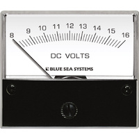 Blue Sea Voltmeter DC 8–16V