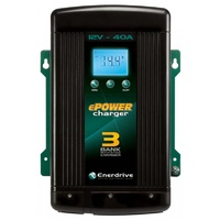 Enerdrive ePOWER 40amp/12v Smart Battery Charger  240V AC - EN31240