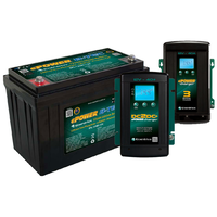 Enerdrive ePOWER 125AH B-TEC Lithium Battery with EN3DC40 DC/DC Charger and 40A Battery Charger