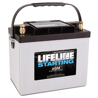 Lifeline AGM GPL-2400T 12V/75Ah Starting Battery
