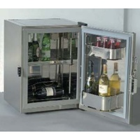 Frigoboat 80 Litre Stainless Fridge Cabinet with Hidden Evaporator - MS80IN
