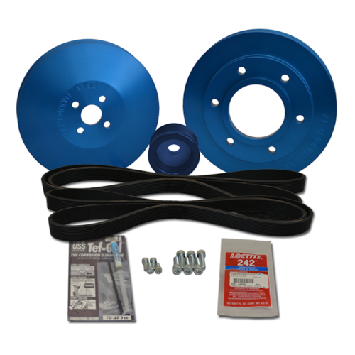 Balmar Pulley Kit, Yanmar 6LY, 6LYA-STP, 6LY2-STP