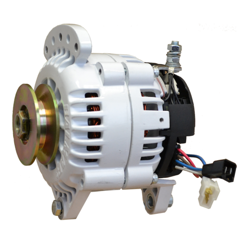 Balmar Alternator, 60 Series, 100a, 12v, SaddleMT, 3.15 inch, SingPul, IsoGrd