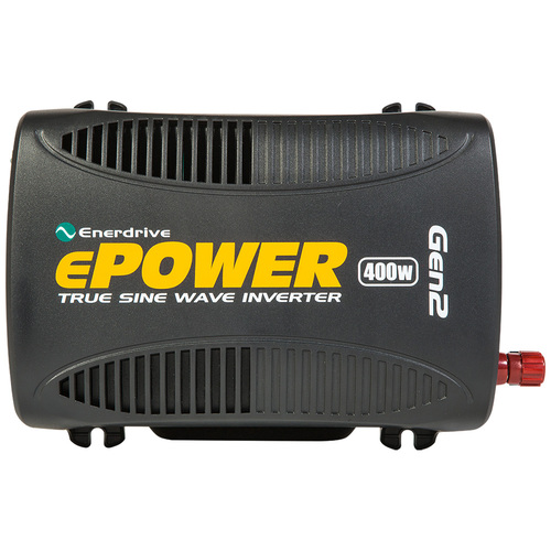 Enerdrive ePower 12V to 240V 400W Pure Sine Wave Inverter GEN2