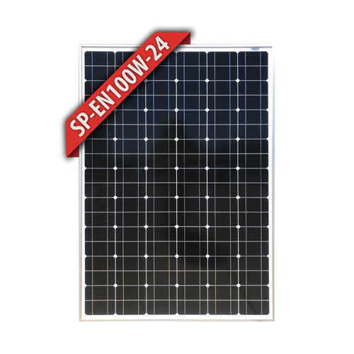 Enerdrive 100W Fixed Mono Solar Panel 24V