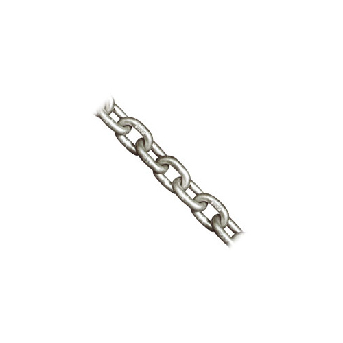 8mm Shortlink Galvanised Grade L Chain (per meter)