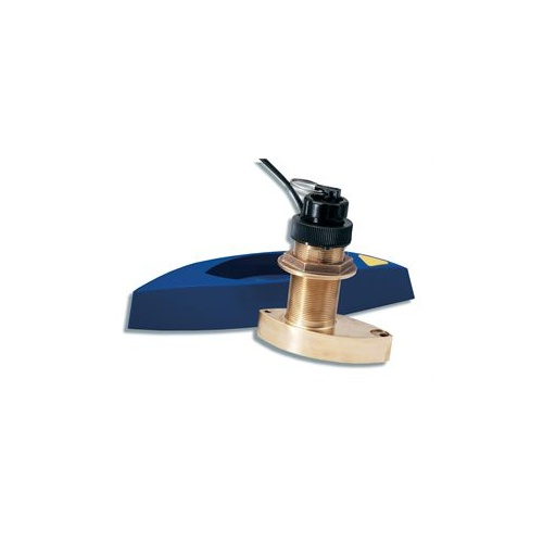 Raymarine B744V Bronze Depth, Speed, Temperature Through Hull Transducer (No fairing block)