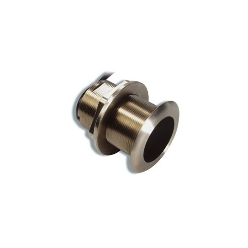 Raymarine B60 600W Depth & Temp Bronze Through Hull Transducer with 12º Tilted Element